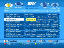 Sky italia Mediaset Premium + 11000 ondemand TV & Audio 4