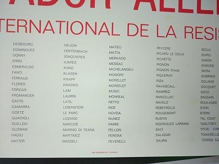 1977 Plakat Festival Avignon Raubkunst Chile Antiquitaeten 3