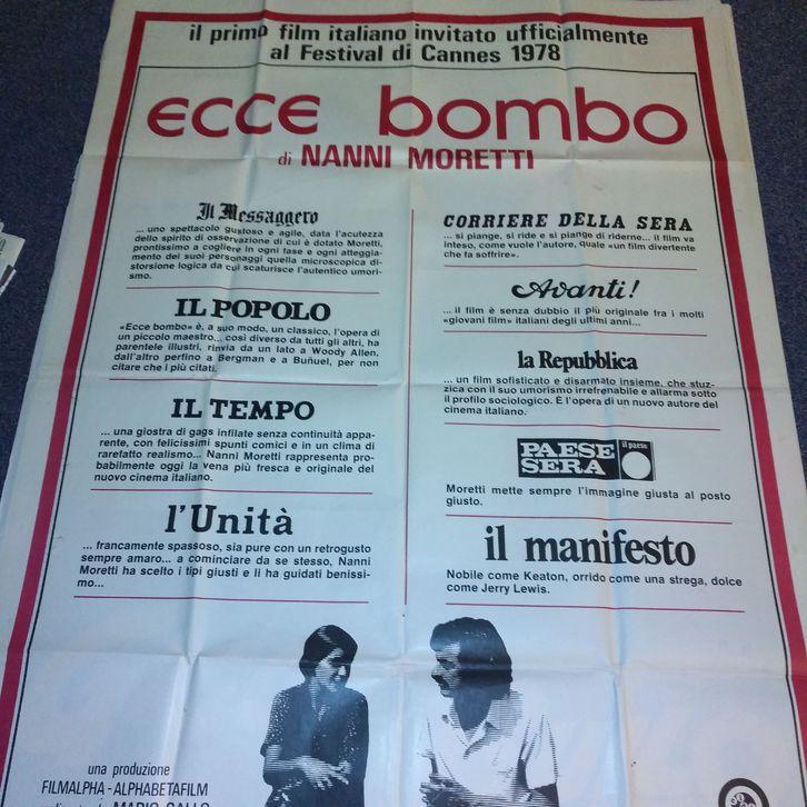 1978 Moretti Plakat Ecce Bombo Cannes VA für die Ital Schweiz Sammeln 4