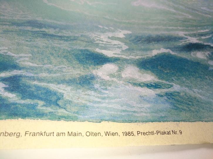 1985 M M Prechtl Das Oktoberfest Nationalrausch Offset Plakat Sammeln 3