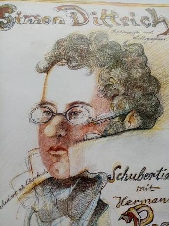 1986 Plakat   Dittrich    Schubert   Bad Urach Antiquitaeten