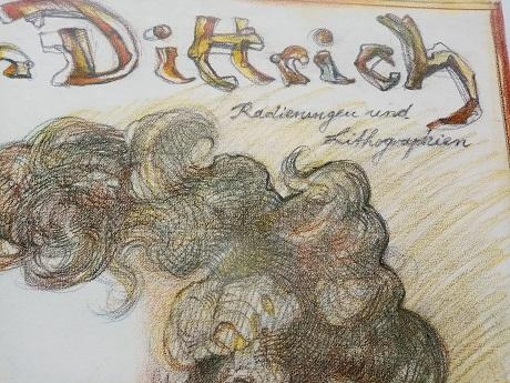 1986 Plakat   Dittrich    Schubert   Bad Urach Antiquitaeten 2