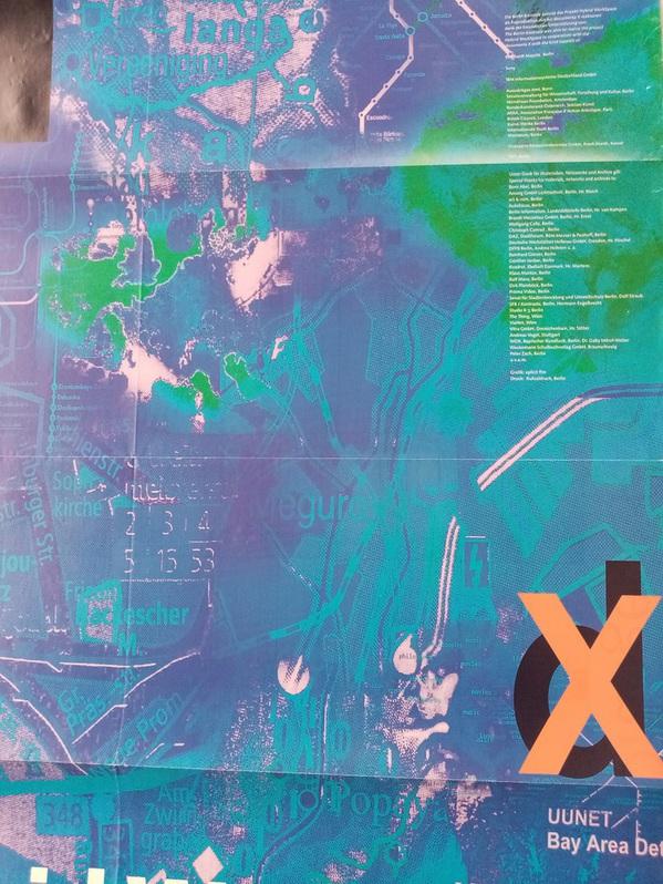 1997 Plakat documenta X  Hybrid Workshop Sammeln