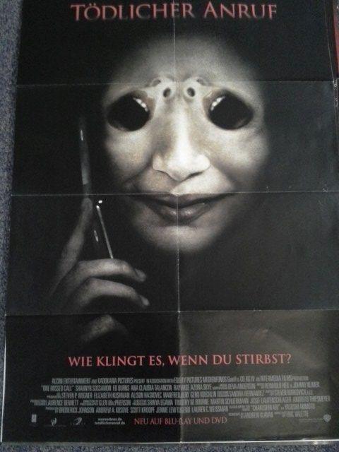 2008 A1 Plakat Shannyn Sossamon japanischer Horror Yasushi Akimoto. Sammeln 2