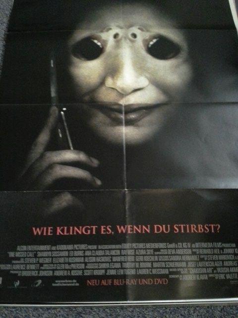 2008 A1 Plakat Shannyn Sossamon japanischer Horror Yasushi Akimoto. Sammeln 3