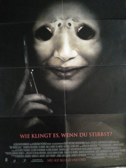 2008 A1 Plakat Shannyn Sossamon japanischer Horror Yasushi Akimoto. Sammeln 4