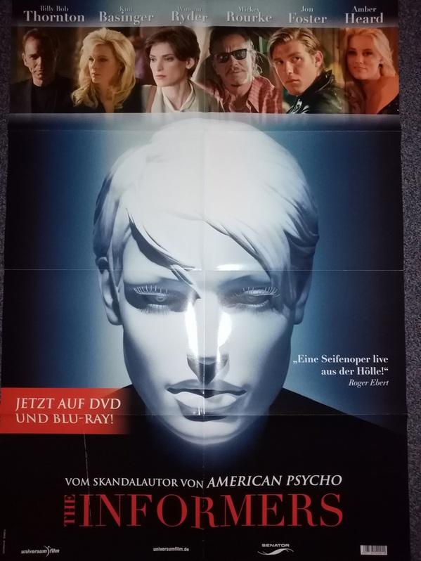 2008 Film Plakat Informers Kim Basinger Sammeln