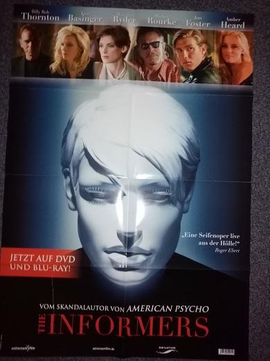 2008 Film Plakat Informers Kim Basinger Sammeln 2