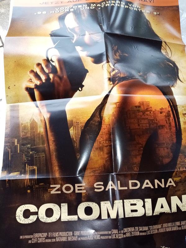2010 Orginal  Film Plakat  A1  Columbiana Sammeln
