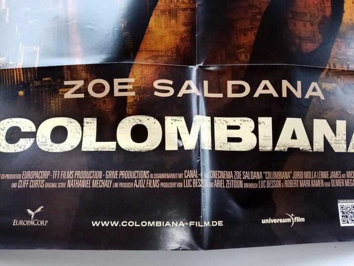 2010 Orginal  Film Plakat  A1  Columbiana Sammeln 2