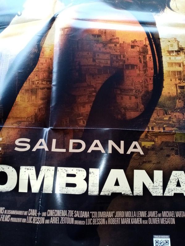 2010 Orginal  Film Plakat  A1  Columbiana Sammeln 3