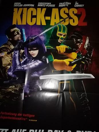2013 A1 Plakat Comic Film  Kick Ass dekorativ Sammeln