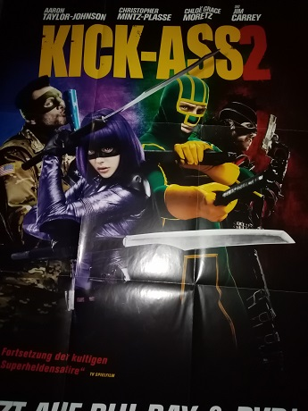 2013 A1 Plakat Comic Film  Kick Ass dekorativ Sammeln 3