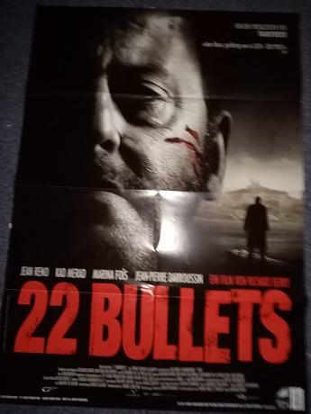 22 Bullets Film Plakat A1 aus 2010 Sammeln