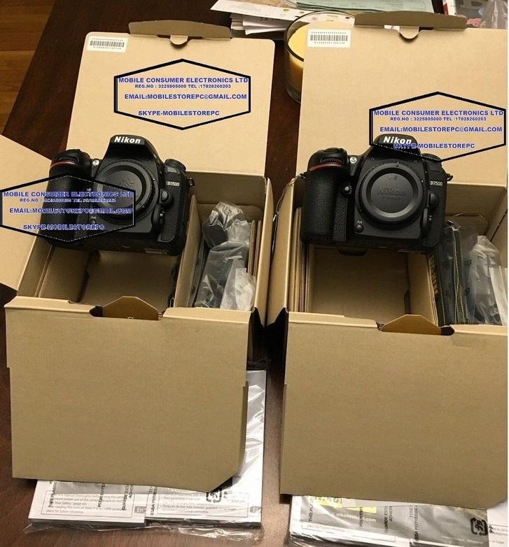 Acquista nuovo Nikon D7500 SLR Solo corpo 2 anni di Garanzia Telefon & Navigation