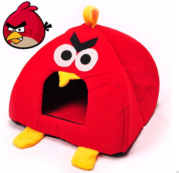 Angry Birds Fan Katzenbett Katzen Bett Hundebett Neuheit Tier Zubehör Accessoire Tiere