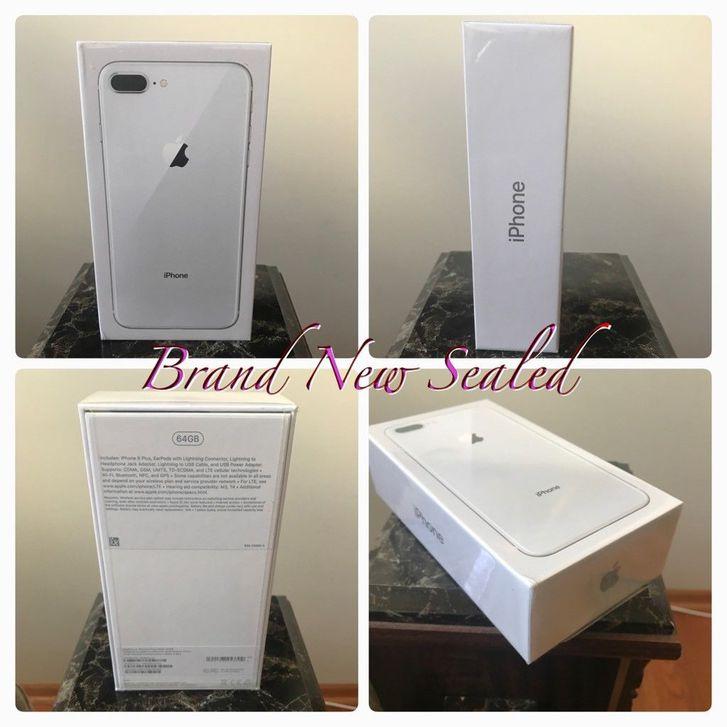 Apple iPhone 8 And 8 Plus (64/256 GB) Factory Unlocked Telefon & Navigation