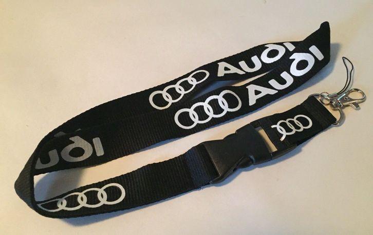 Audi Auto Schlüssel Anhänger Band Schlüsselanhänger Schlüsselband Fan Schweiz Schwarz