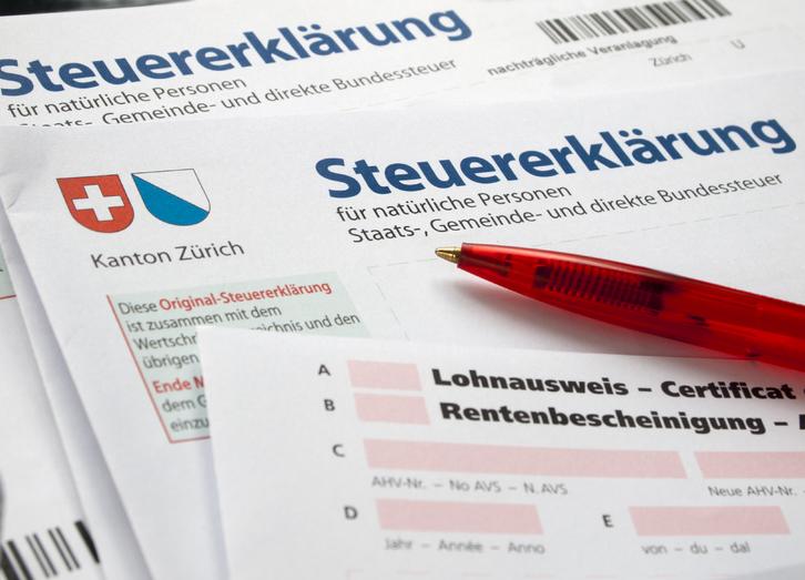 Ausfüllen Ihrer Steuererklärung - Einzelperson ohne Immobilien, ohne Wertschriften Büro & Gewerbe