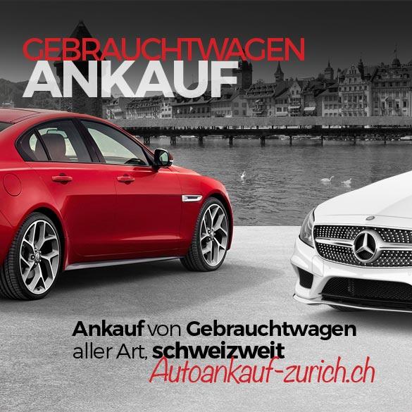 Autoankauf Zürich Fahrzeuge
