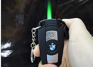 BMW Feuerzeug Sturmfeuerzeug Fan Geschenk für Auto Lieberhaber mit Taschenlampe Sonstige 2