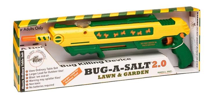BUG-A-SALT 2.0 LAWN & GARDEN Salz Gewehr Fliegen Salzgewehr Salzpistole Flinte Insekten Gadget / Neu Schweiz Garten & Handwerk 2