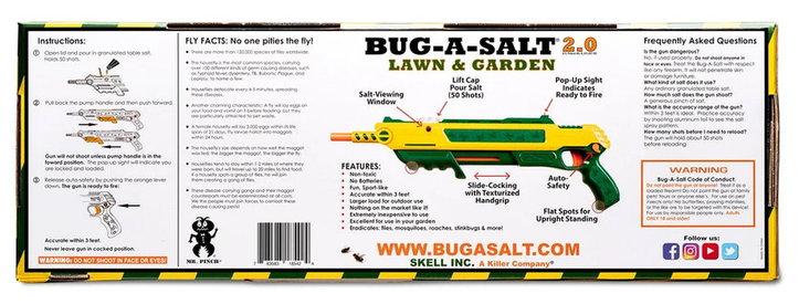 BUG-A-SALT 2.0 Rasen Garten Fliegengewehr Salz Gewehr Pistole Salzgewehr Flinte Insekten Schädlinge Sonstige 2