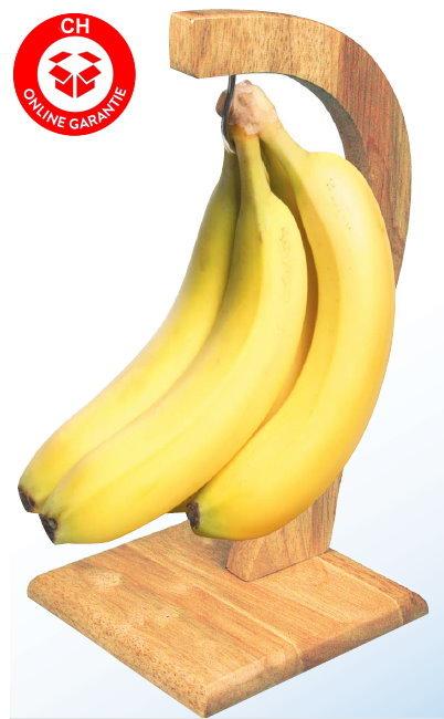 Bananen Frucht Obst Halter Bananenständer Bananenhalter Gemüse Ständer Halt Holz