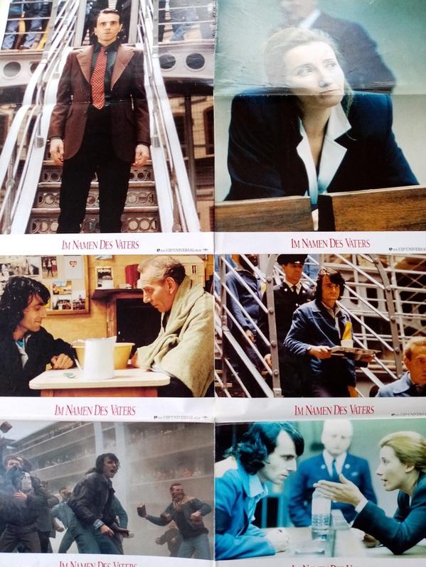 Berlinale Goldener Bär 1994 seltene A1 Plakat Ausgabe Im Namen des Vaters Sammeln