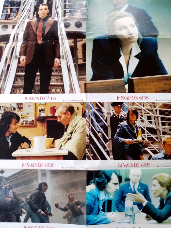 Berlinale Goldener Bär 1994 seltene A1 Plakat Ausgabe Im Namen des Vaters Sammeln 3