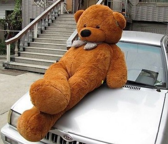 Biete: Mega XXL Teddy Teddybär 230cm Plüsch Plüschteddy Plüschbär Bär Kuschel Weihnachten Geschenk für Kind / Neu Baby & Kind