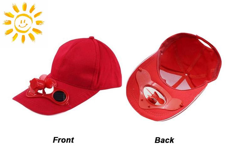 Biete: Solar Cap Mütze Kappe Ventilator Sonne Solarcap Kappe / Neu Kleidung & Accessoires 2