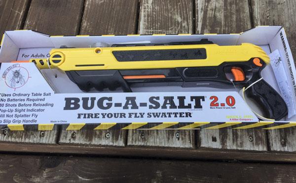 Bug-A-Salt Bug a Salt Version 2.0 Flinte Fliegen Jagd Fliegenkiller Salz Gewehr Schrotflinte Salzgewehr Luftdruckgewehr gegen Insekten Fliegenklatsche Sonstige 2