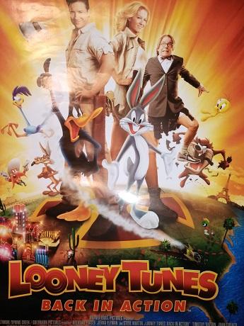 Bugs Bunny Film Plakat A1 aus 2003 Looney Tunes gerollt Sammeln 4