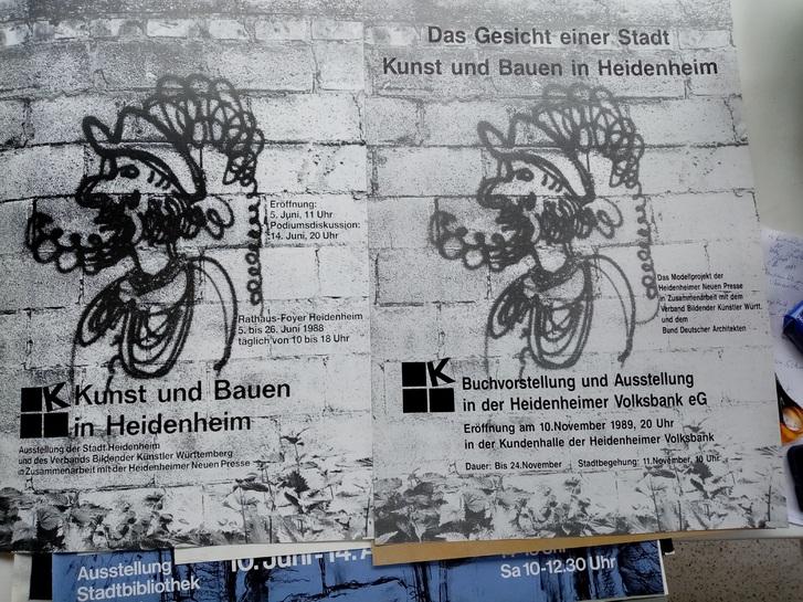Bund Deutscher Architektinnen und Architekten Plakat  1989 Sammeln 2