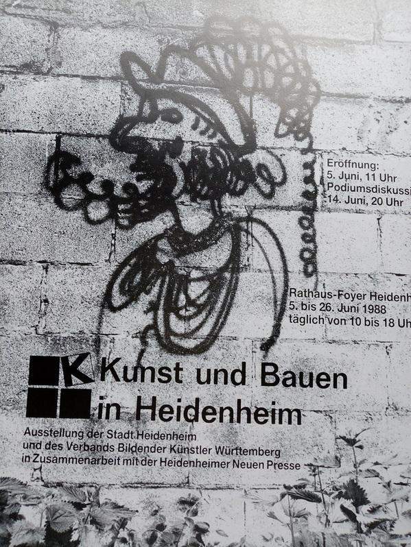 Bund Deutscher Architektinnen und Architekten Plakat  1989 Sammeln 3