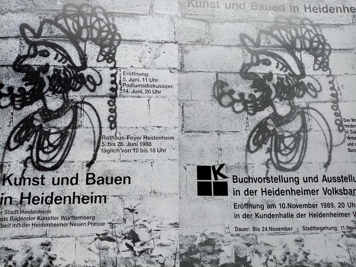 Bund Deutscher Architektinnen und Architekten Plakat  1989 Sammeln 4