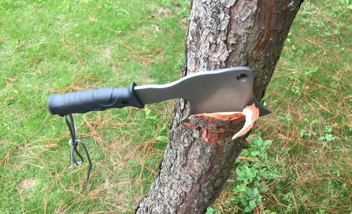 CK Cavra Camping Outdoor Axt Jagd Überleben Survival Beil Metallaxt Überlebenskit Kompass Sport & Outdoor 4