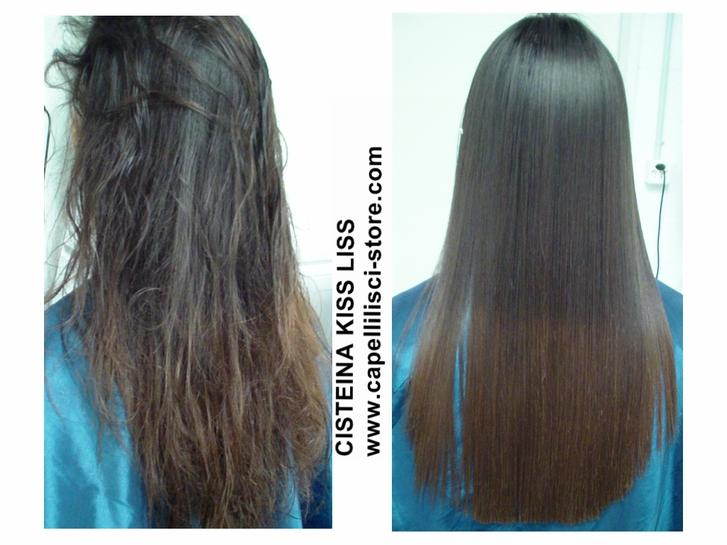 Die Cisteína  KISS LISS ist ein ausgezeichnetes Produkt um die Haare zu glätten. Sonstige