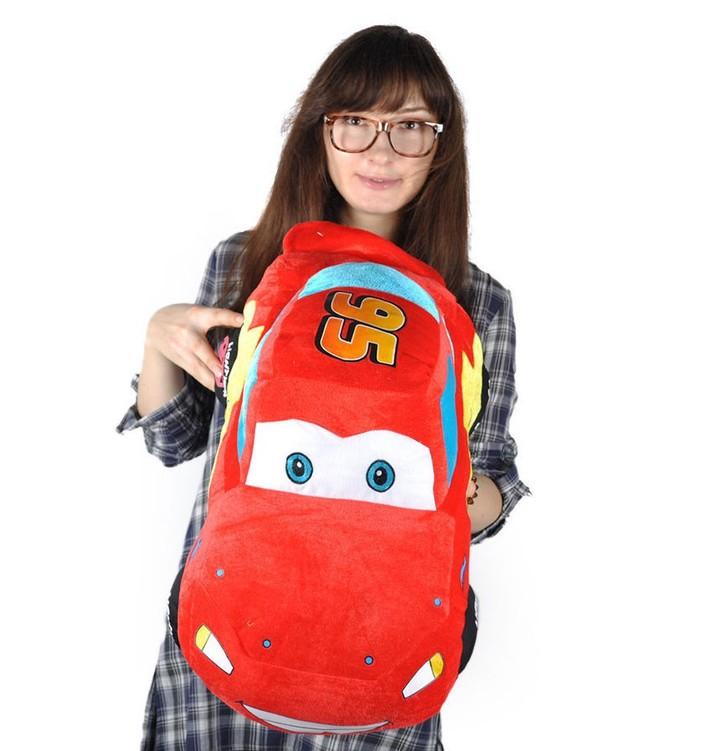 Disney Cars Lightning McQueen Plüsch Auto Plüschauto 55cm XL Geschenk Kind Junge Boy Pixar Spielzeuge & Basteln 3