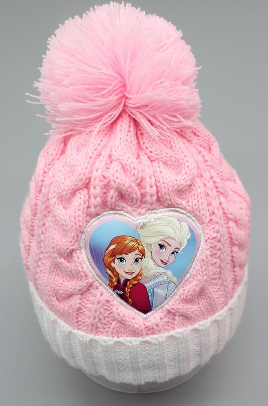 Disney Die Eiskönigin Mütze Beanie Schal und Handschuh Handschuhe Set Fan Mädchen Weiss Pink Rosa Baby & Kind 2