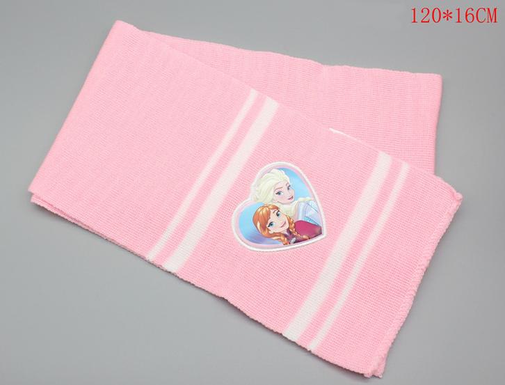 Disney Die Eiskönigin Mütze Beanie Schal und Handschuh Handschuhe Set Fan Mädchen Weiss Pink Rosa Baby & Kind 3