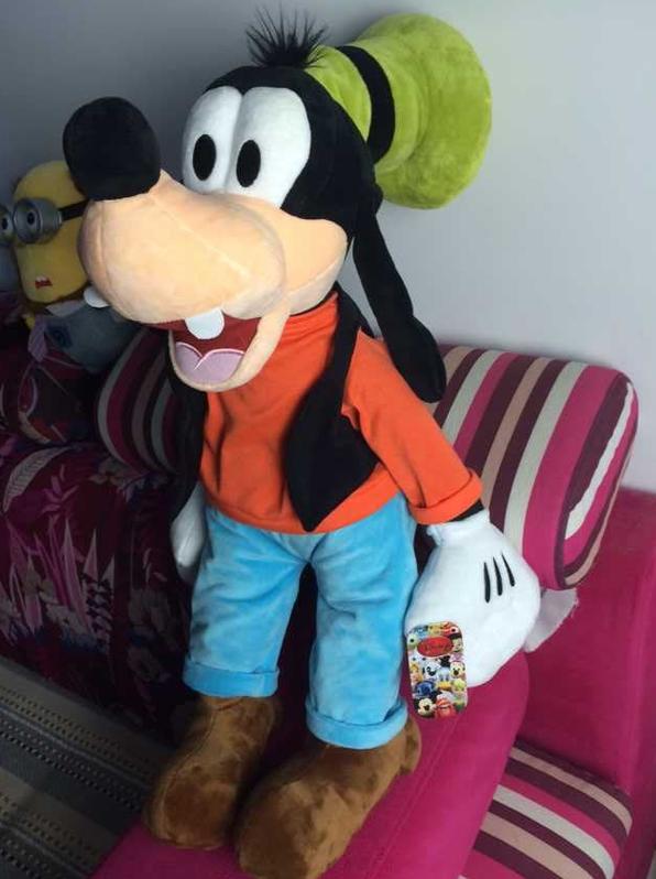 Disney Goofy Plüsch XXL Plüsch Puppe Plüschtier Plüschfigur Kuscheltier Goofy Micky Maus 75cm XL XXL Geschenk Kind Spielzeuge & Basteln