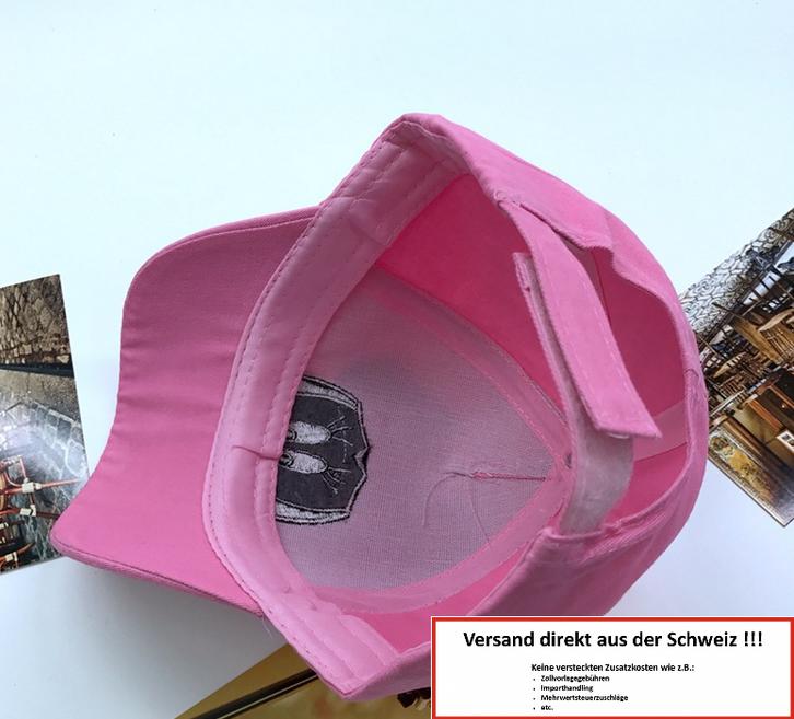 Disney Mädchen Minnie Mouse Baseball Cap Mütze Kappe Baseball Mädchen Girl Baumwolle Pink Rosa Geschenk Schweiz Baby & Kind 3
