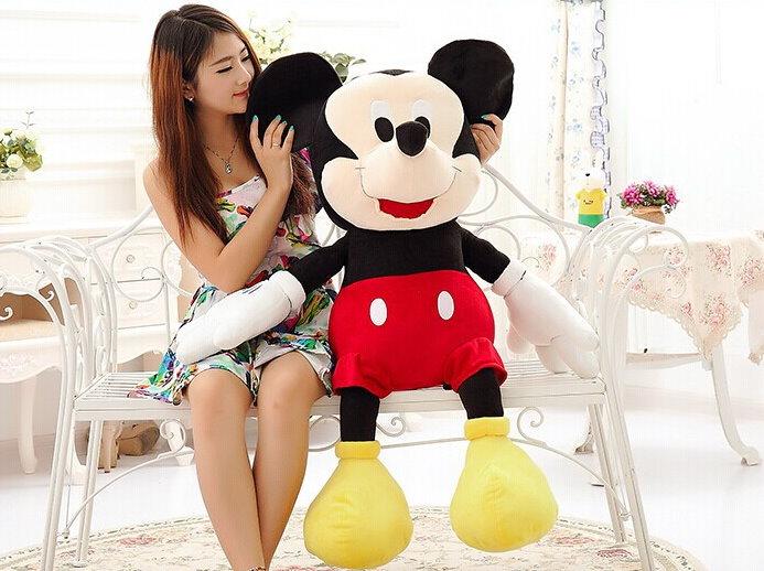 Disney Micky Maus XXL Plüschtier ca. 130cm Geschenk Mickey Mouse Plüsch Plüschfigur Geschenk Kind Junge TV Spielzeuge & Basteln