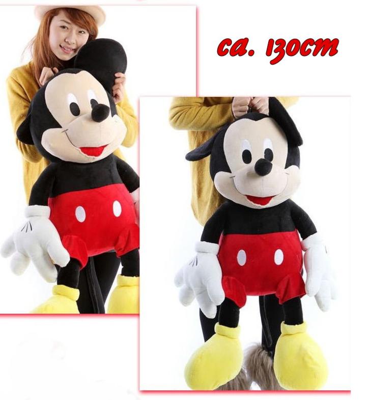 Disney Micky Maus XXL Plüschtier ca. 130cm Geschenk Mickey Mouse Plüsch Plüschfigur Geschenk Kind Junge TV Spielzeuge & Basteln 2