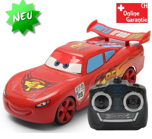 Disney Pixar Cars Lightning McQueen Auto Car Flitzer RC Fernbedienung Spielzeug Geschenk Junge Kind Baby & Kind