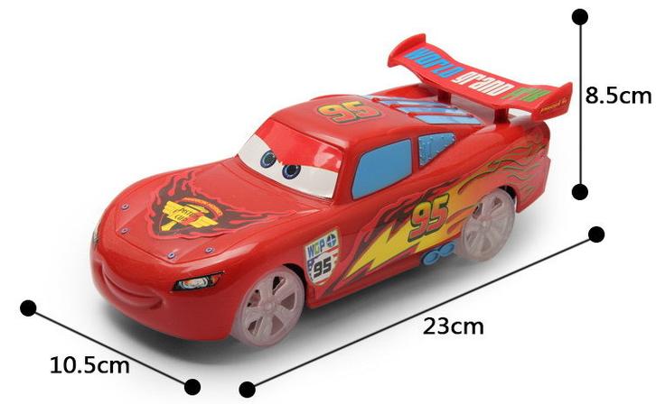Disney Pixar Cars Lightning McQueen Auto Car Flitzer RC Fernbedienung Spielzeug Geschenk Junge Kind Baby & Kind 2
