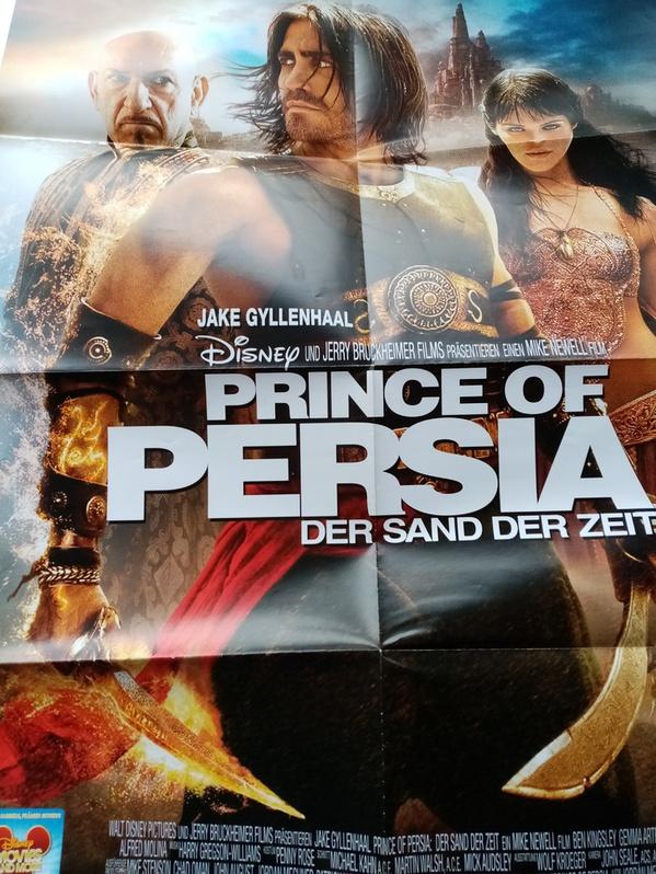 Disney Plakat A1 Prince of Persia Sammeln 4