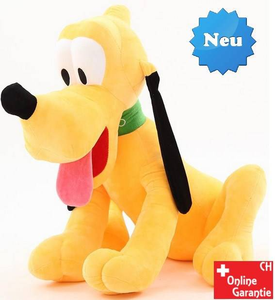 Disney Plüschtier Pluto Plüschfigur Hund Mickey Micky Maus XXL Plüschhund Kind Kinder Kinderzimmer Spielzeuge & Basteln